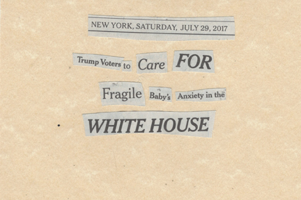 July 29, 2017 Trump Voters to Care for Fragile Baby's Anxiety In the WHite HouseSMFL.jpg