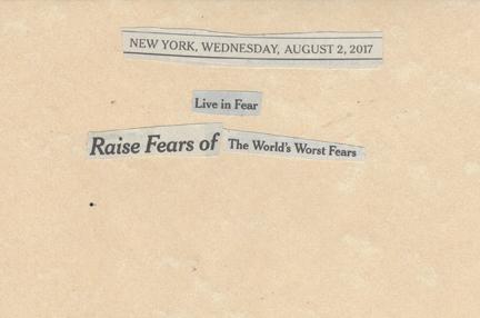 August 2, 2017, Live in Fear Raise Fears of the World's Fears SMFL.jpg