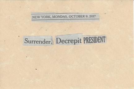 October 9, 2017 Surrender Decrepit President SMFL.jpg