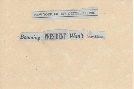 October 13, 2017 Booming President Won't Stay Silent SMFL.jpg