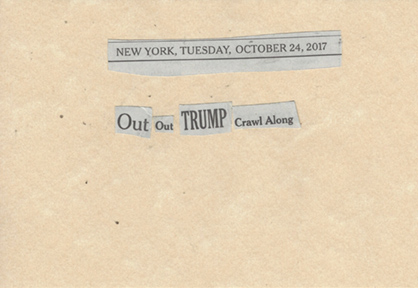 October 24, 2017,Out Out Trump Crawl AlongSMFL.jpg