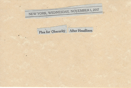 November 1, 2017 Plea for Obscurity After Headlines SMFL.jpg