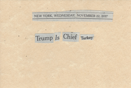 November 22, 2017, Trump is Chief Turkey SMFL.jpg
