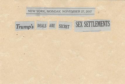 November 27, 2017 Trump's Deals are Secret Sex Settlements SMFL.jpg