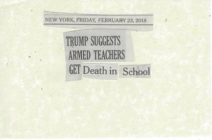 February 23, 2018 Trump Suggests That Armed Teachers Get Death in School SMFL.jpg