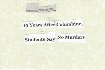 April 21, 2018 19 Years After Columbine, Students Say No Murder SMFL.jpg