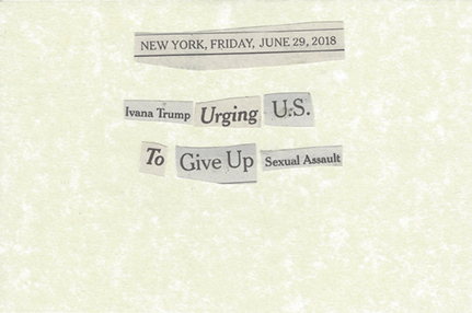 June 29, 2018 Ivana Trump Urging US to Give Up sexual Assault SML.jpg