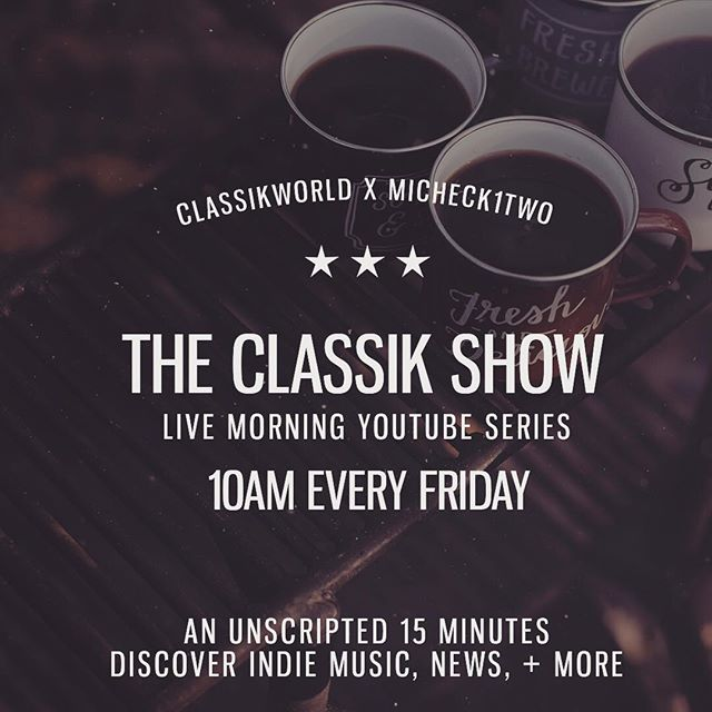 What! 25!!! ☀️☕️ This AM marks 25 unscripted live crazy early mini-sodes documenting this winding road in music & new found love for independent news & true media. Say What! We're actually being somewhat consistent. Don't get your hopes up. ☺️ kidding. join yours truly for another  #classikshow @ 10am. Putting the link in bio for ya. This one is sponsored by good folks at @themelanincompany — grab a cup, let's catch up! 10AM LIVE SHAW ☕️☀️