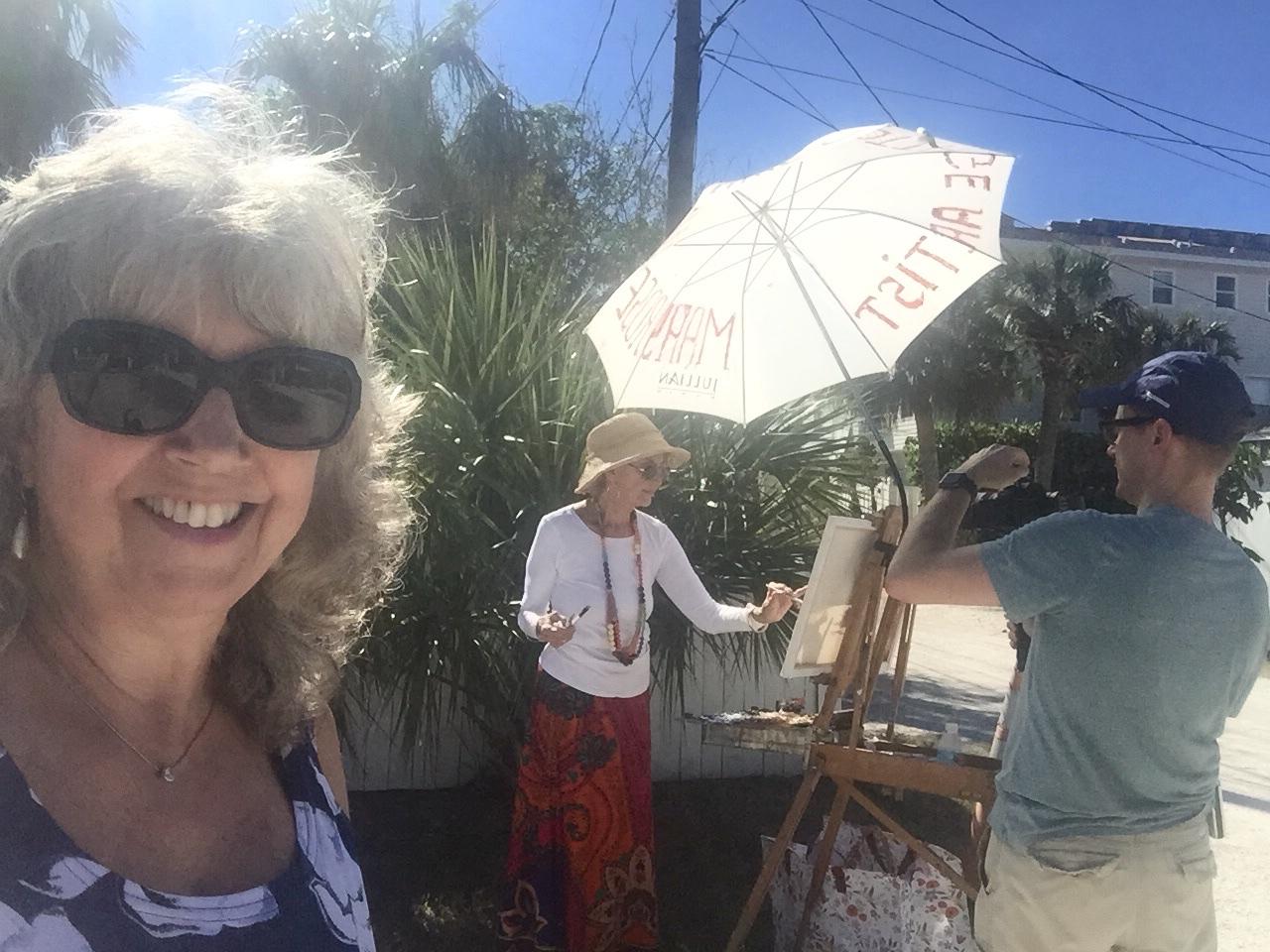 CA-producer selfie w-MR painting Scruggs 12-01-17.jpg