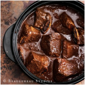 Rib tips marinated and cooked in mocha sauce.