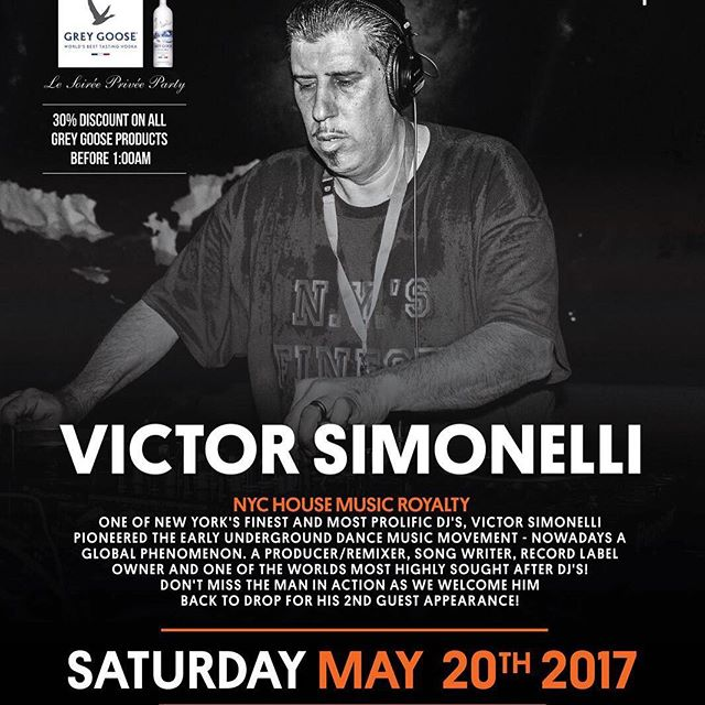Save the date! 20th May 2017!!!!! Victor Simonelli - NYC House Music Royalty is back at drop for his 2nd guest appearance! @victor_simonelli #hkclubbing #housemusic #dj #djlife #djlifestyle #hk #drophk #hkigers #housemusicallnightlong #nightclub