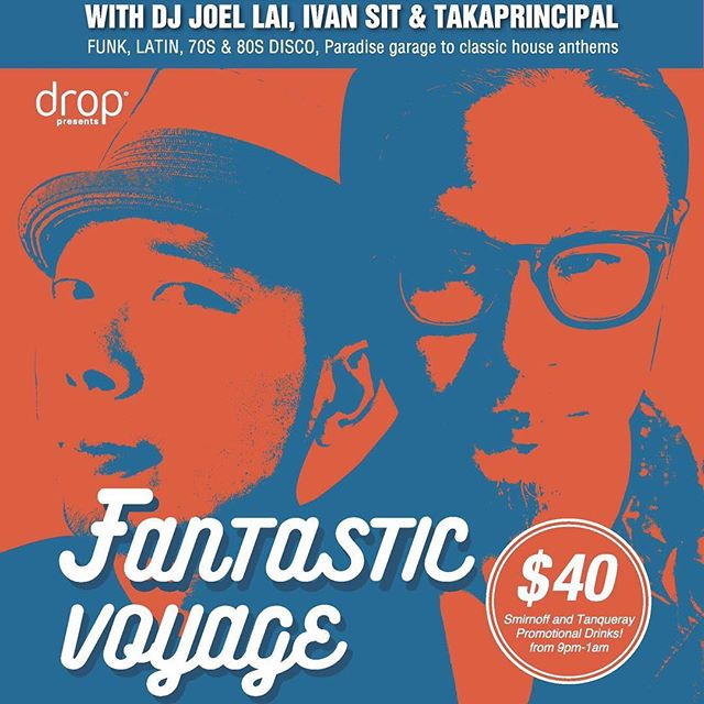 Join us for 'Fantastic Voyage' every Wednesday night! DJ's Joel Lai, Ivan Sit and Takaprincipal spinning Funk, Latin, 70's & 80's Disco, Paradise Garage and Classic House Anthems! @jdellai @ivansit852 @takaprincipal #hkiger #hkigers #hk #hkig #music #hkclubbing #disco #funk #housemusic #dancefloor #party #musiclover