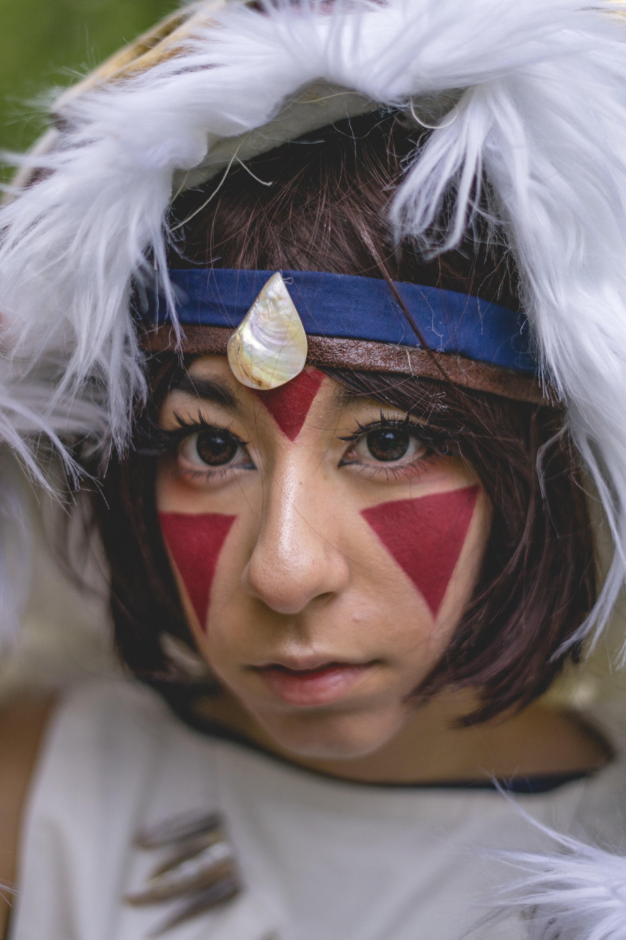 Princess Mononoke    cosplay by     @starsplat