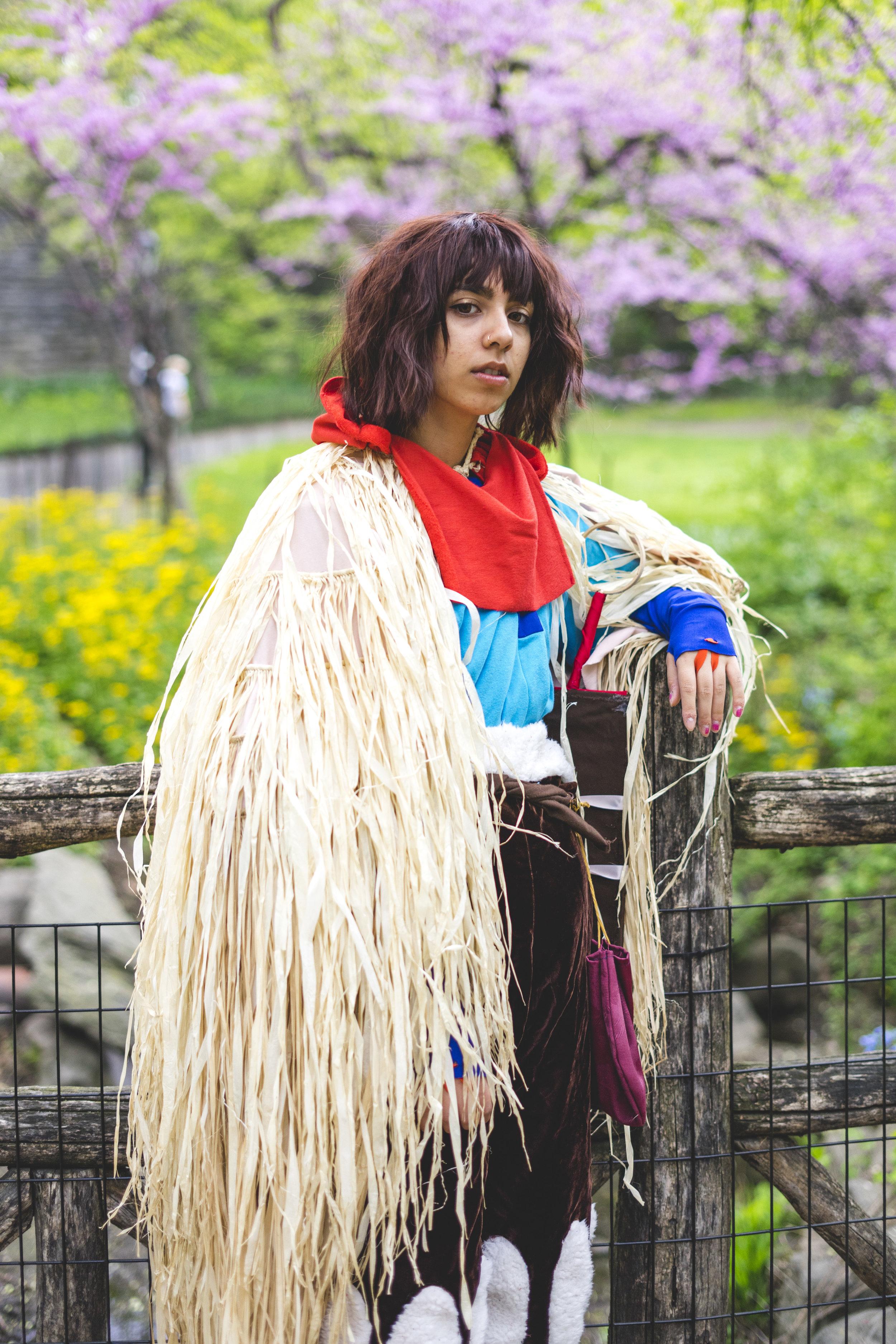 Ashitaka    cosplay by     @chiliconos