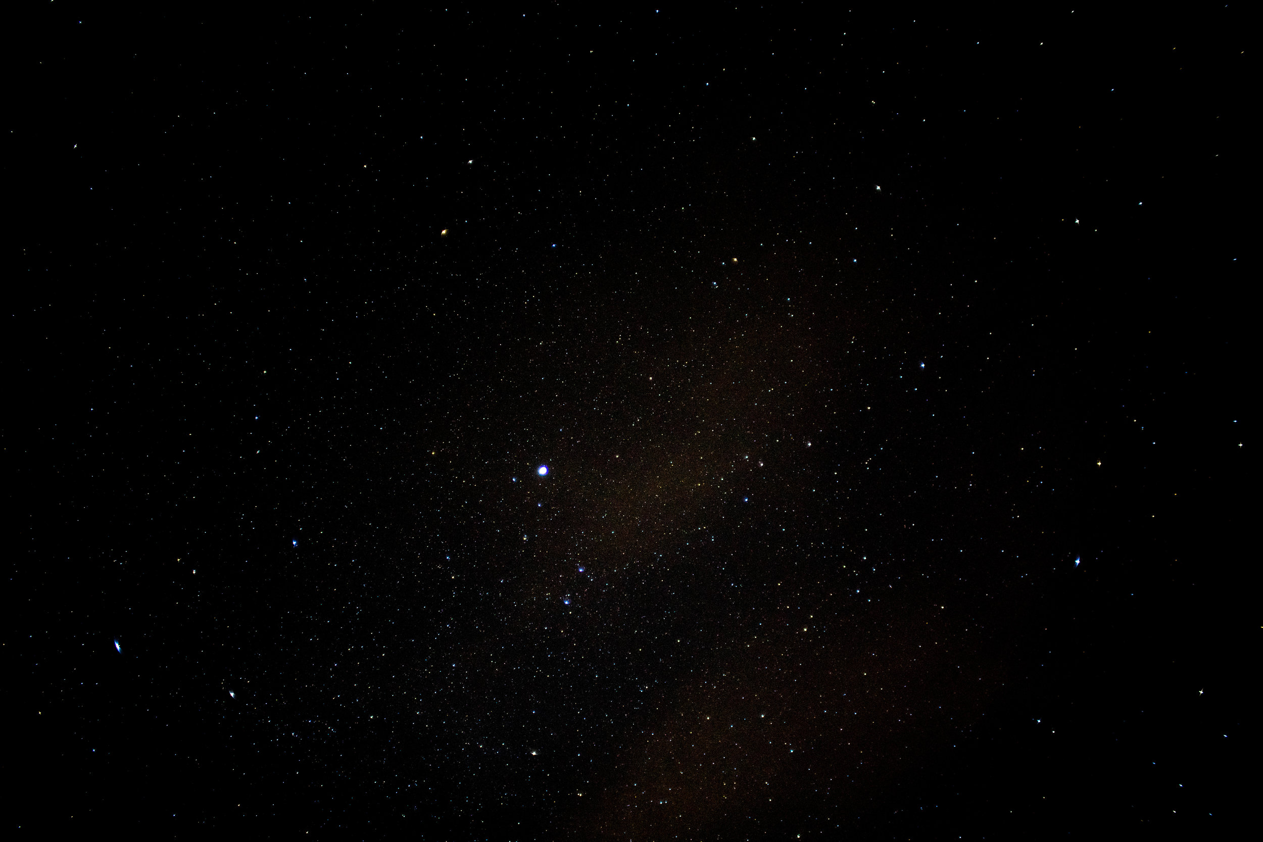 The night sky in Orange, Connecticut.