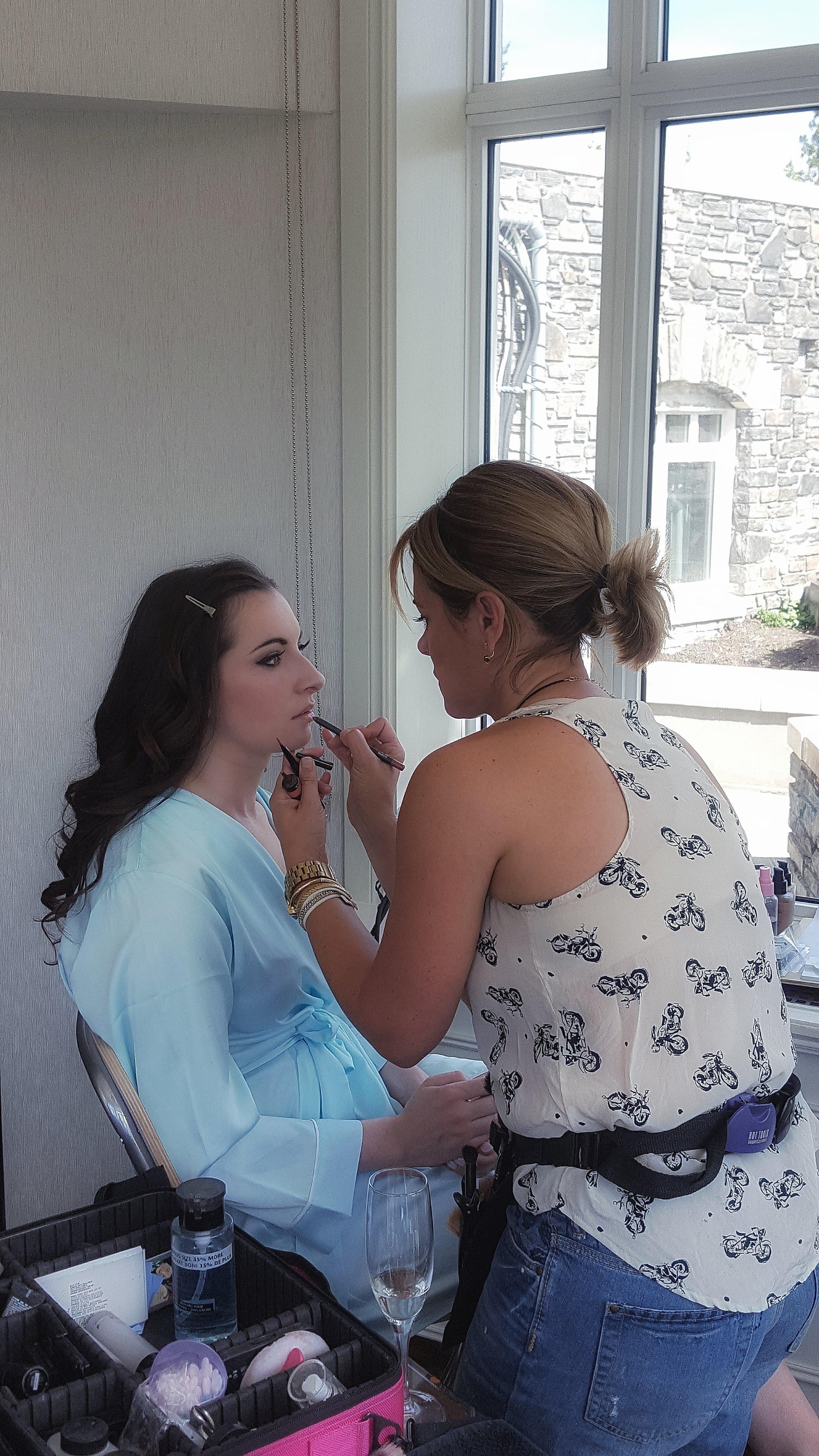 Makeup Artist: Kelly