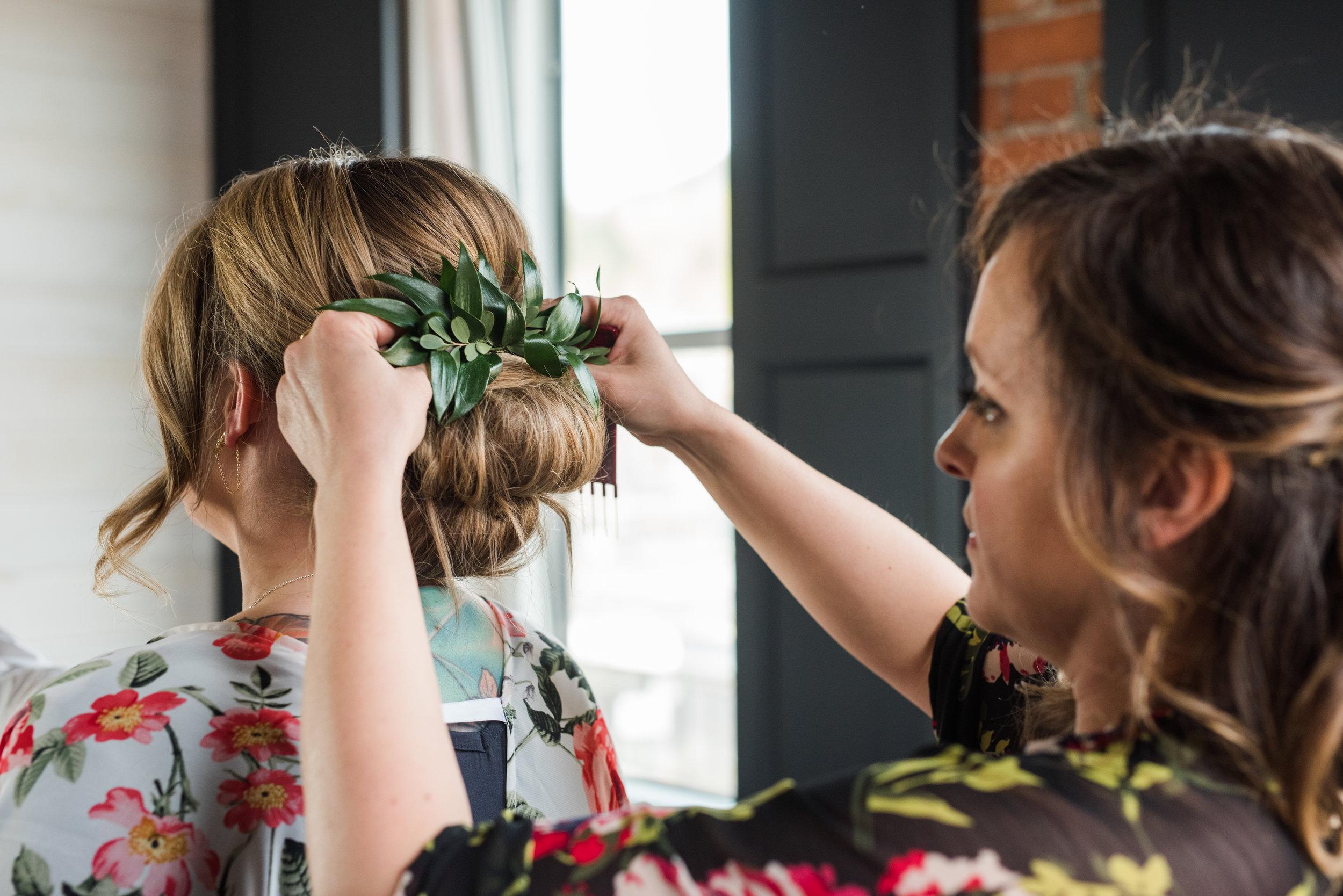 Hair & Makeup: Robin / Photo: Chic & Grace Photography