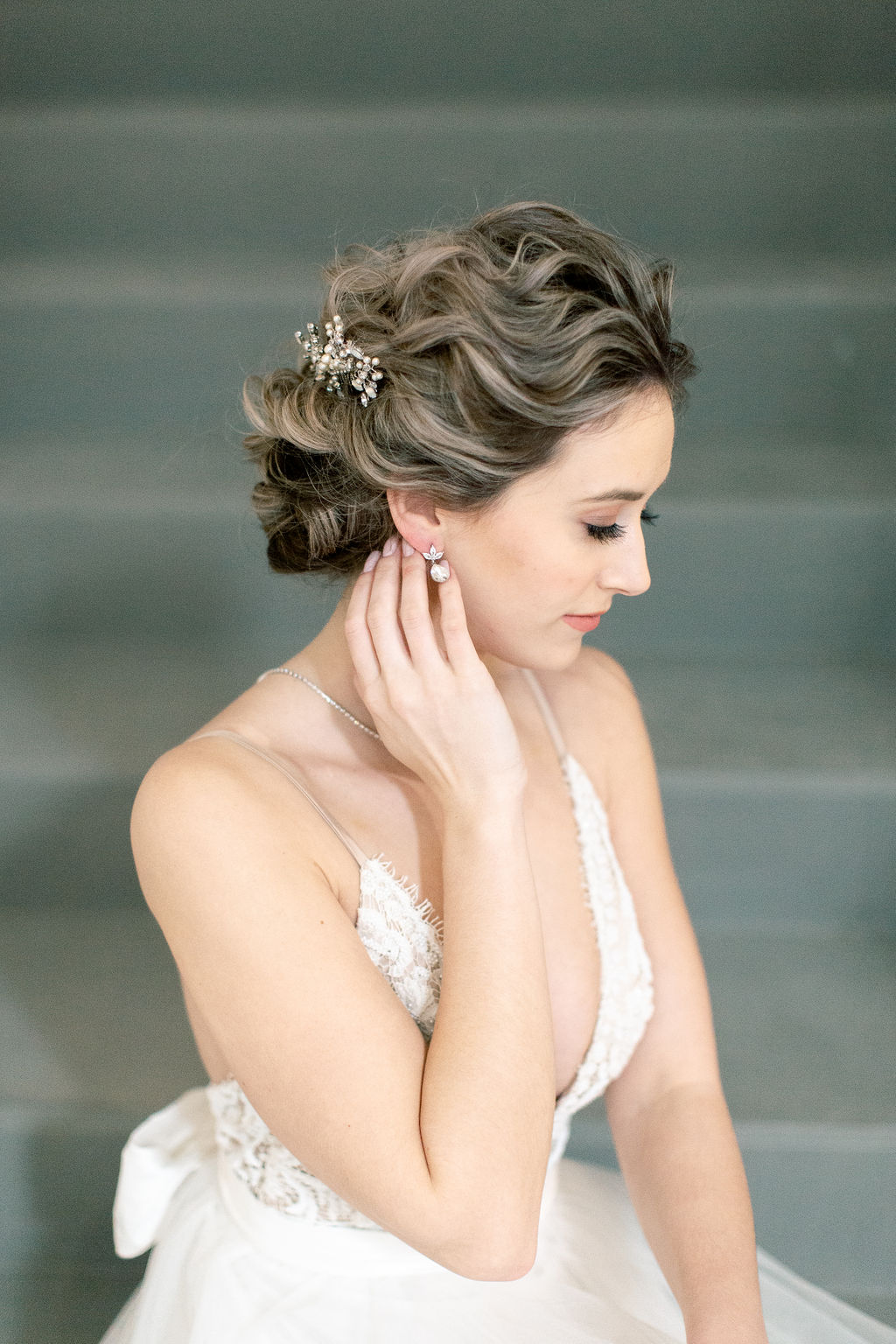 Hair & Makeup: Robin ~ Photo: Stephanie Couture Photography