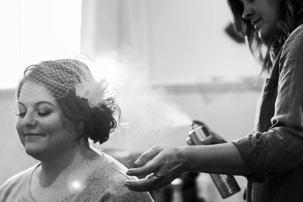 Hair & Makeup: Robin ~ Photo: Nicole's Photography YYC