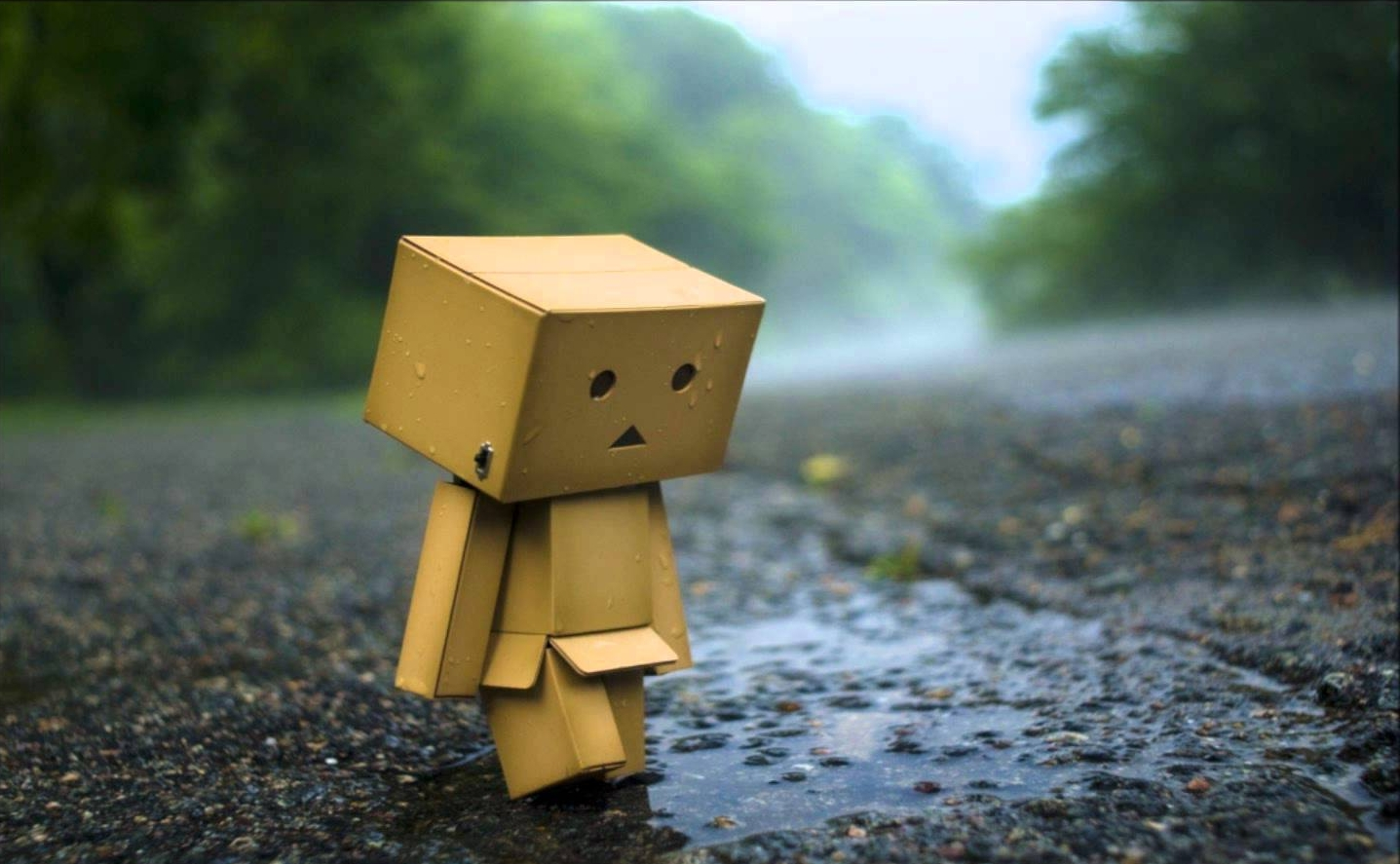 Does this sad robot make you feel better? Yeah, we thought so.