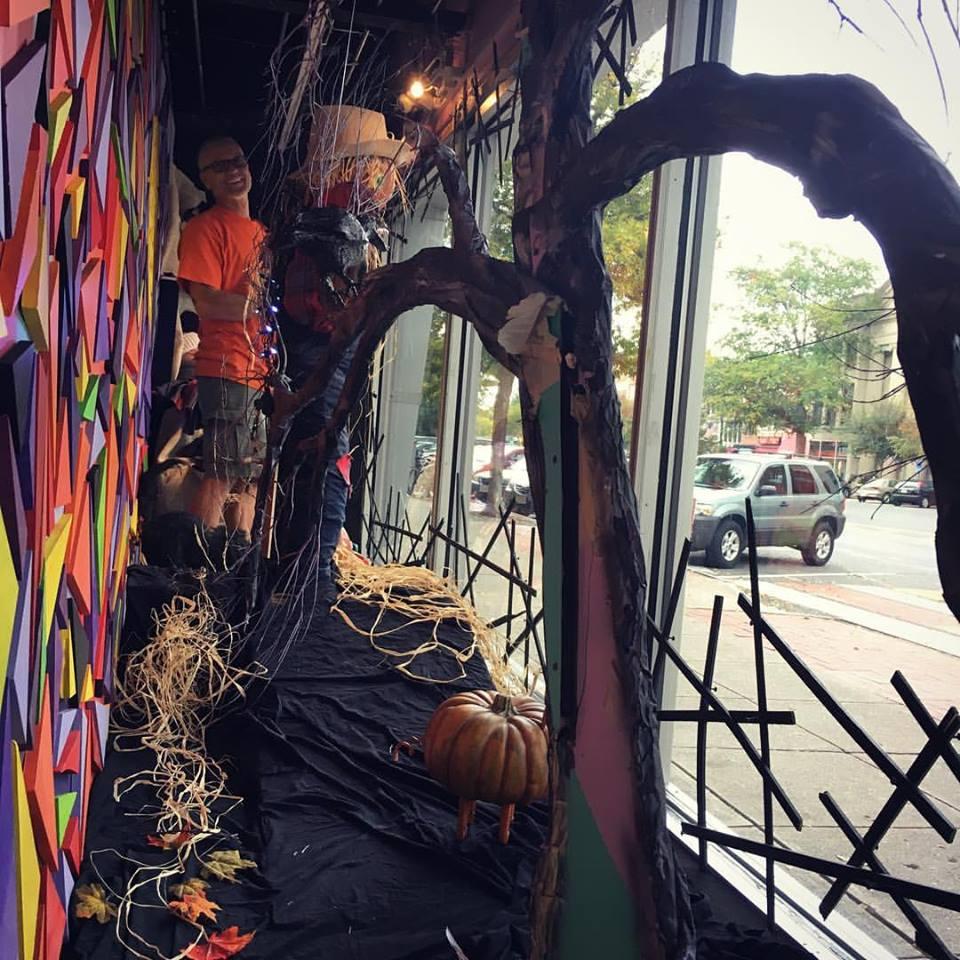 Halloween 2016 in progress
