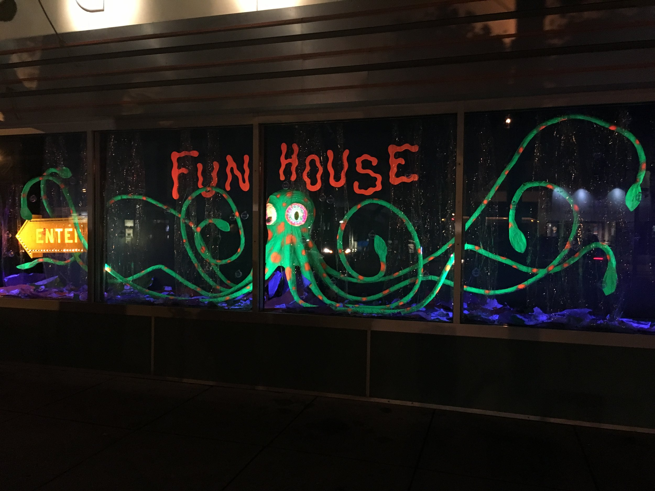 Fun House by night - July 2016