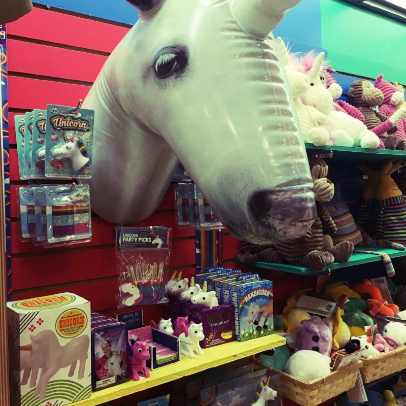 Inflatable Unicorn, unicorn lip gloss, unicorn hooves, unicorn toys, unicorn stuff