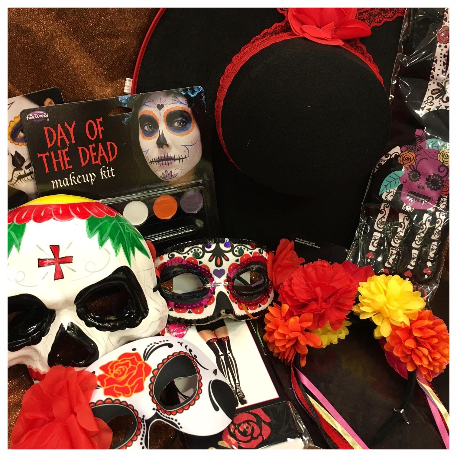 Halloween 2017 day of dead assortment.JPG