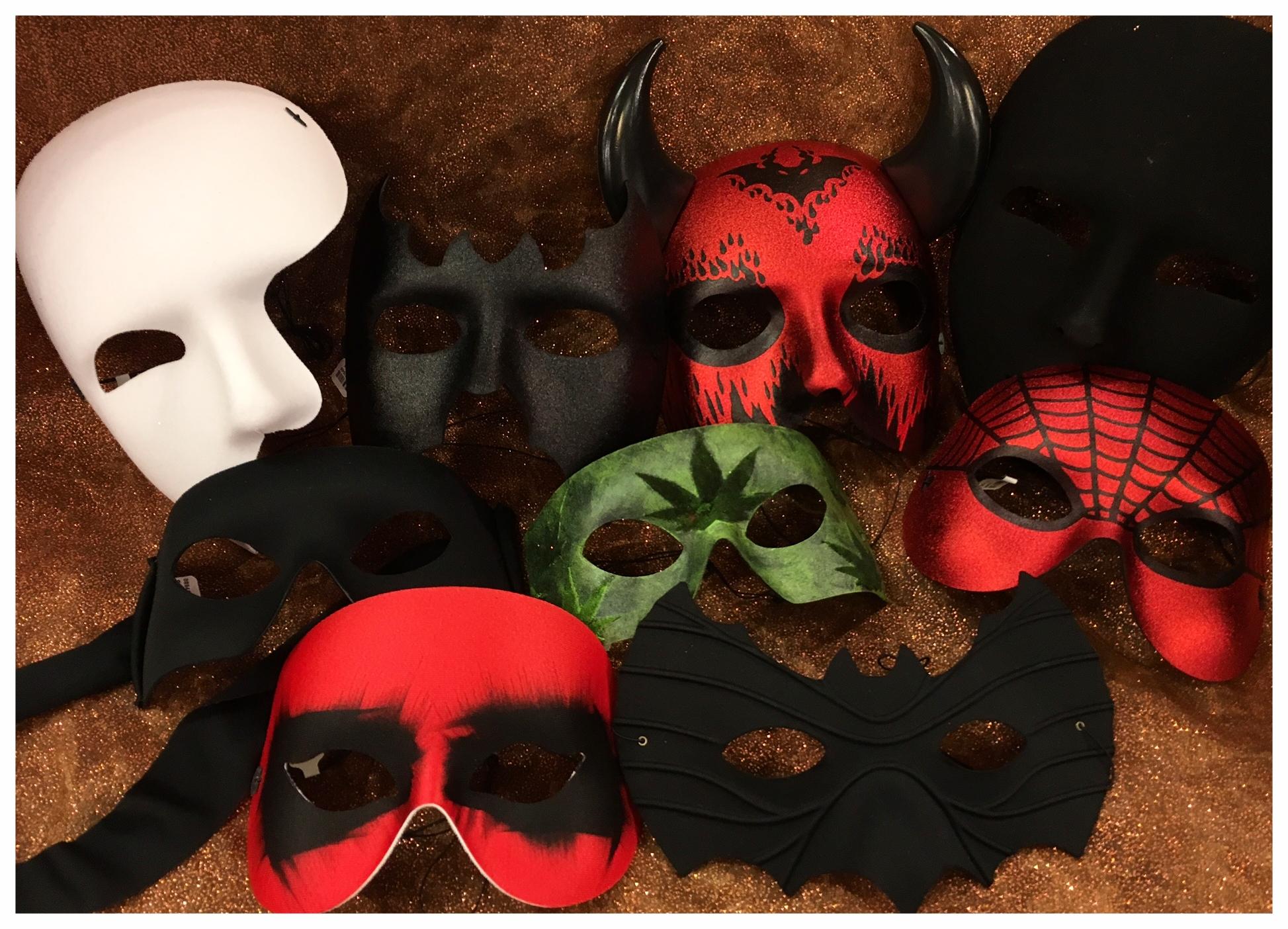 Halloween 2017 basic masks 1.JPG