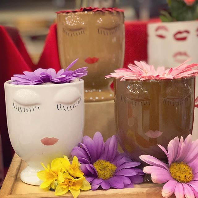 It's #nationalplantaflowerday 🌷 Get your seeds started indoors in one of these cute new planters! Shop these new arrivals and more, all 30% this month during Markdown Madness!  #markdownmadness #planter #springflowers #grow #flowers #facesmainstreet