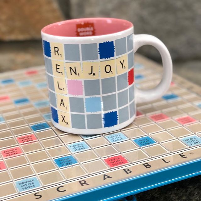 Add a touch of game night to your coffee break with one of these classic game mugs ☕️ Shop these and other new arrivals 30% off all month long during Markdown Madness!  #markdownmadness #gamenight #scrabble #twistergame #monopoly #candyland #hasbrogames #facesmainstreet