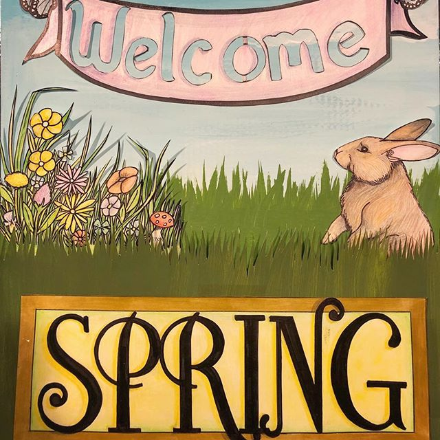 Spring is here!!! 🌷🌼🌿Celebrate the start of Spring with us with 30% off the entire store! Artwork by @jennielhall09  #springishere #firstdayofspring #welcomespring #springsale #markdownmadness #localartist #facesmainstreet