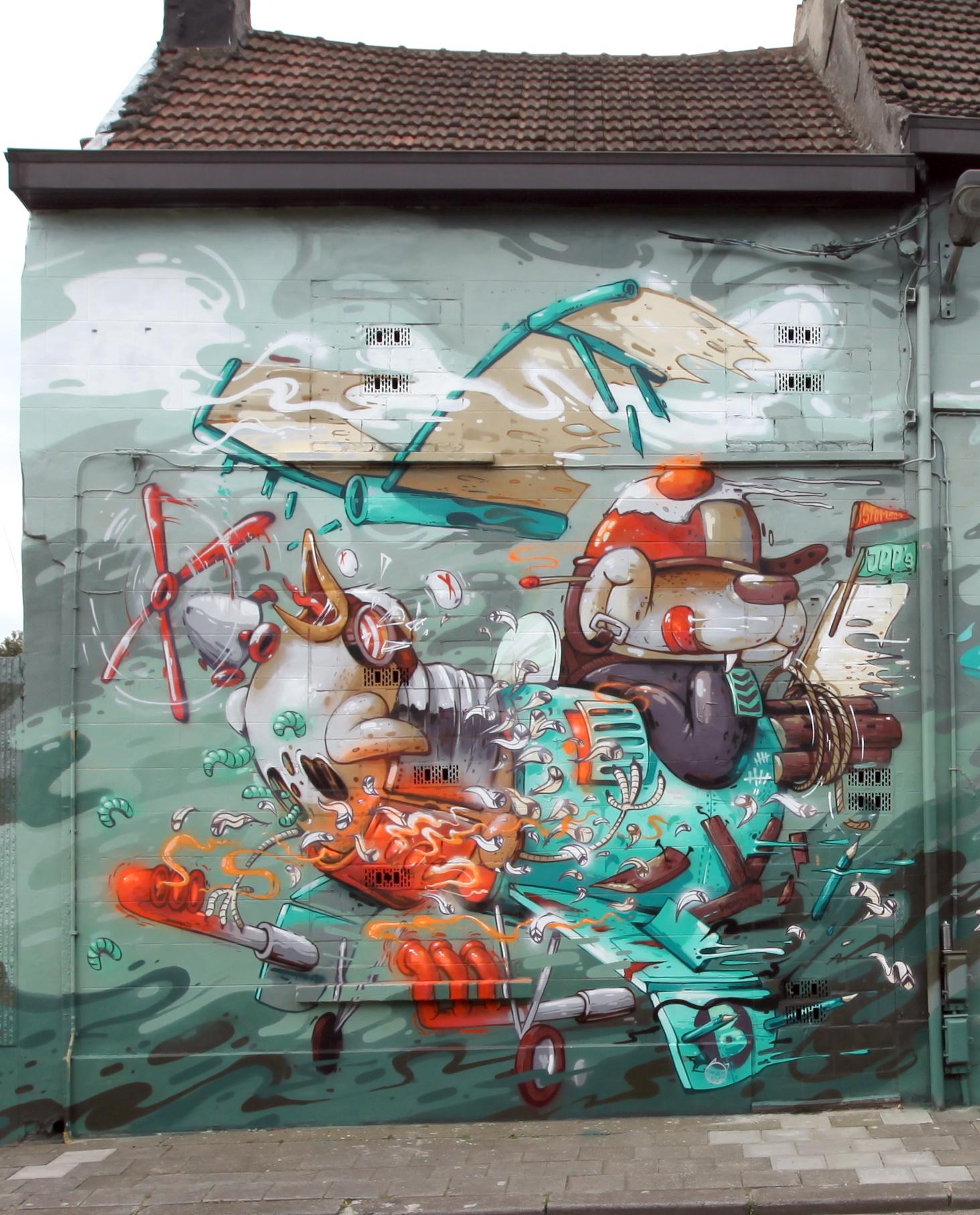 Rencontre de style - Antwerpen-2016