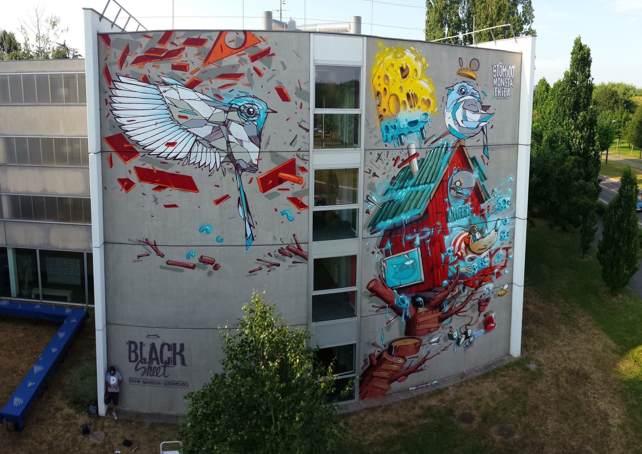 Mulhouse- feat Monsta & Ekiem> BLACKSHEET - 2015
