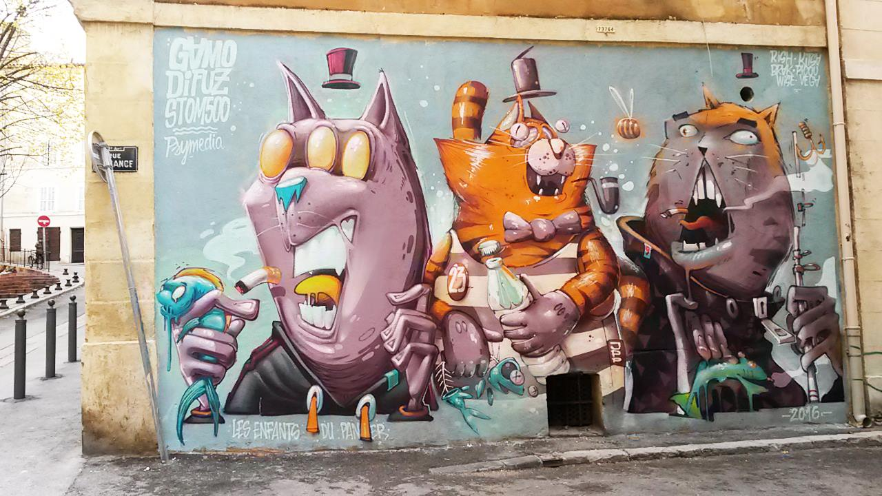 Marseille - Gamo - Stom500 - Difuz