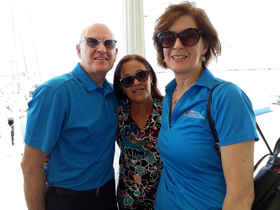 Dr. Dave and Susan Madder with their translator Rosa in Cuba