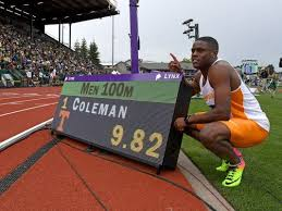 9.82! - I wanted to give you a quick look at just how competitive NCAA I Track and Field has become. The following men's performances occurred last night in Eugene, OR and failed to advance to the Finals on Saturday - 10.05/100m, 20.42/200m, 45.53/400m, 1:47.19/800m, 3:43.78/1500m (around a sub 4 Mile), 13.58/110HH, 49.44/400IH, 38.92/4x1 and 3:04.17/4x4. The following field event marks failed to score - 17'10.5