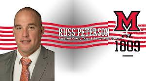 Russ Peterson - MIAMI - MIAMI UNIVERSITY - SPRINTS, JUMPS & HURDLEShttp://www.gobulldogs.com/coaches.aspx?rc=845&path=track