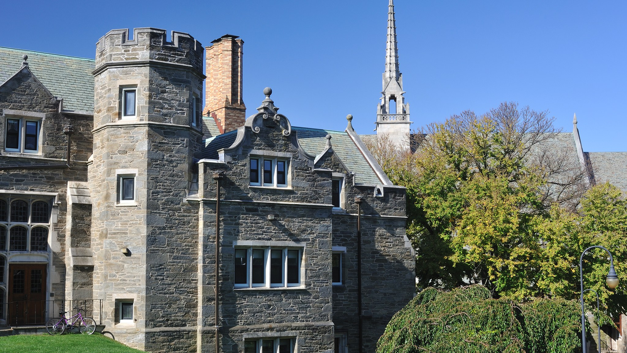 - Undoubtedly, you will consider many factors when deciding where to further your academic and athletic pursuits. One aspect that will have a potential significant impact on your decision will be the campus of the schools you are considering. Here is a list of several schools that have been listed by numerous sources as the prettiest in the country. Obviously, there are many. many more and much will depend on your personal preferences.EASTPrinceton University - Ivy League School. NCAA I. Very Competitive AthleticsAmherst College - NCAA III. Highly Selective Academics. Good AthleticsPenn State - Big Ten. Power 5. Public with Strong Academics. Very Competitive Athletics.SOUTHEASTUniversity of Virginia - ACC. Power 5. Public with Highly Selective Academics. Very Competitive Athletics.Wake Forest University - ACC. Power 5. Highly Selective Academics. Very Competitive Athletics.Emory College - NCAA III. UAA Conference. Highly Selective Academics. Very Good Athletics.SOUTHUniversity of Mississippi - SEC. Power 5. Above Average Academics. Highly Competitive Athletics.Sewanee: The University of the South - NCAA III. Above Average Academics. Moderate Athletics.Furman University - NCAA I. Extremely Competitive Distance / XC Program. Mid-range Academics.MIDEASTNotre Dame - ACC. Power 5. Highly Selective Academics, Highly Competitive Athletics.Kenyon College - NCAA III. Well Above Average Academics. Moderately Competitive Athletics.Indiana University - Big Ten. Power 5. Public. Moderately Strong Academics. Highly Competitive Athletics.MIDWESTThe University of Chicago - NCAA III. UAA Conference. Highly Selective Academics. Above Competitive Athletics.University of Wisconsin - Big Ten. Power 5. Public. Strong Academics. Highly Competitive Athletics.Washington Univerity (St Louis) - NCAA III. UAA Conference. Highly Selective Academics. Competitive Athletics.WESTStanford University - PAC 12. Power 5. Highly Selective Academics. Very Competitive Athletics.University of Washington - PAC 12.Power 5. Public. Selective Academics. Very Competitive AthleticsLewis & Clark College - NCAA III. Moderate Academics. Moderately Competitive Athletics.