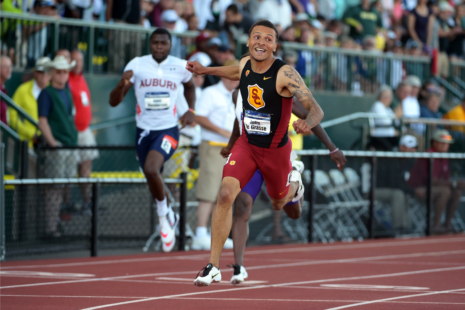 USC Track and Field Recruiting Standards