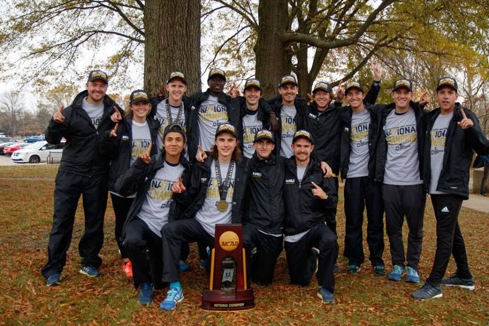 NORTHERN ARIZONA XC - NCAA I CHAMPIONS - 2016, 2017, 2018