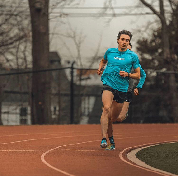 Rob Napolitano - 1:49.57 - 800m, 3:39.75 - 1500m