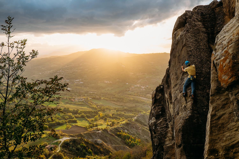 Simone Enei - Climbing 10