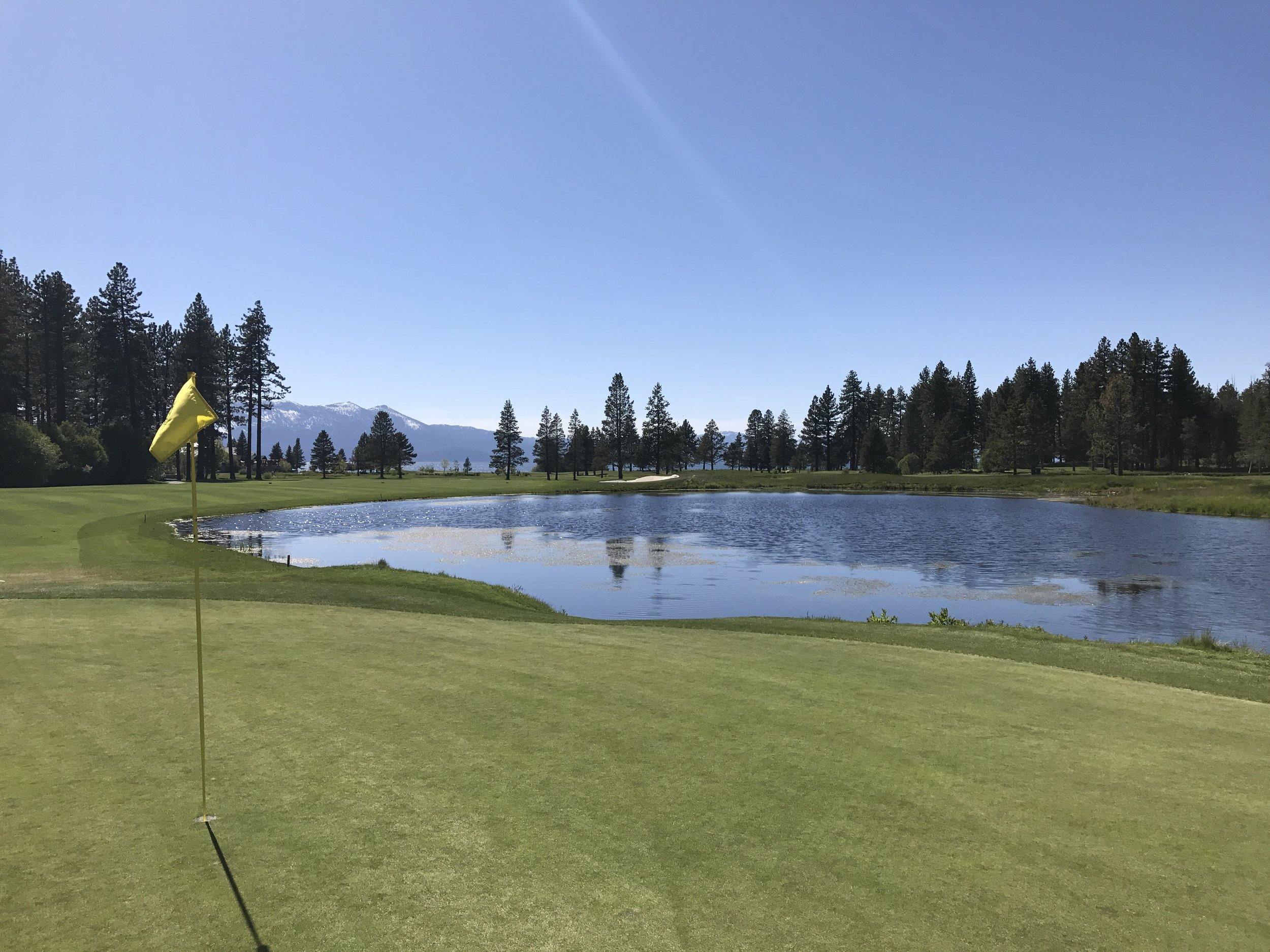 View from #10 green