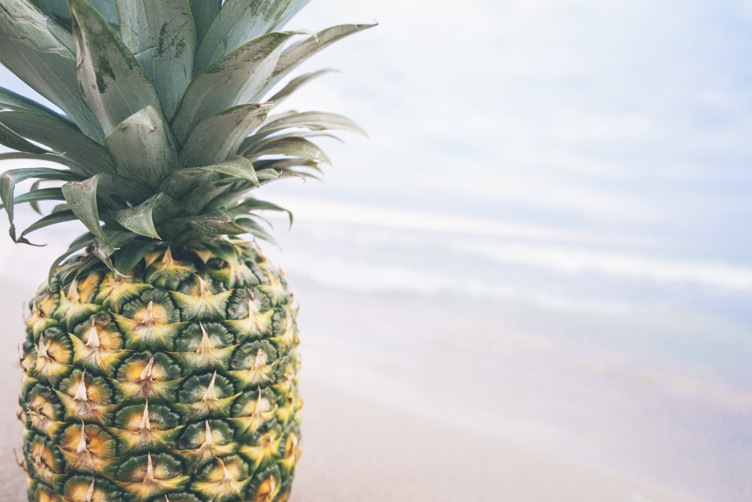 Why Pineapples? - Pineapples have been used in the hospitality industry since the 18th century as a sign of welcome, warmth, and friendliness!Incorporating Pineapples into my business was a no-brainer; and they make me smile.