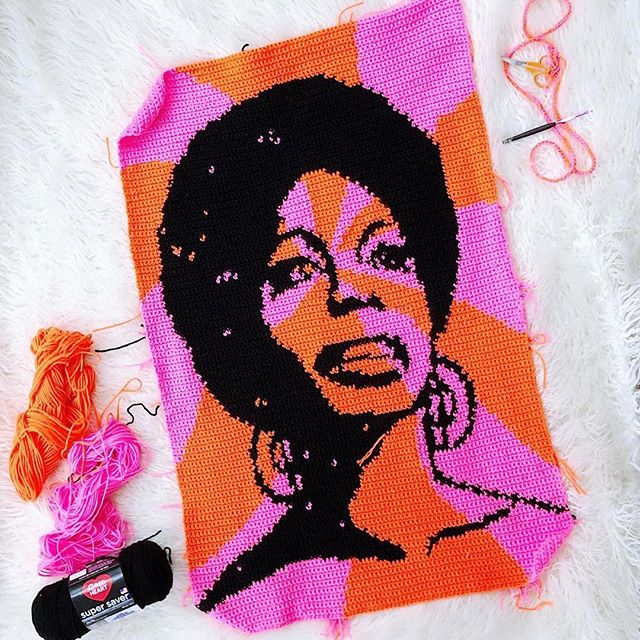 "#Repost @rohnstrong 🌹🌸🌹🌸🌹🌸🌹🌸🌹🌸 ・・・ ""There's no excuse for the young people not knowing who the heroes and heroines are or were.""⠀ ⠀ - Nina Simone⠀ ⠀ She's taken a bit longer than expected but, she's here.⠀ ⠀ I hope your Monday is as wonderful as mine is.⠀ ⠀ Pattern by @oleknyc and @loveacrosstheusa. Head to the website and get the download, put on some Nina, and crochet the day away.⠀ ⠀ Yarn: @redheartyarns Super Saver⠀ Hook: 4mm Susan Bates⠀ ⠀ ⠀ #crochetcardigan #slowfashion #craft #diy #handmade #art #craftastherapy #instacrochet #ourmakerlife #thehooknookers #yarnpunk #craftsposure #scenefromtheceiling #knitting #knit #Crochet #crocheting #crochetaddict #crochetlove #crochetersofinstagram #crocheted #crocheter #crochetlover #crocheteveryday #crochetpattern #bhooked #yarn #craftastherapy_fave #crochetinspiration"