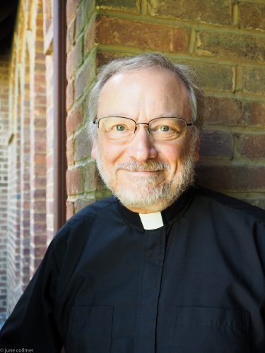 The Rev. Dr. Paul Nancarrow is the Rector of Trinity, Staunton, and the Canon Theologian for the Diocese.