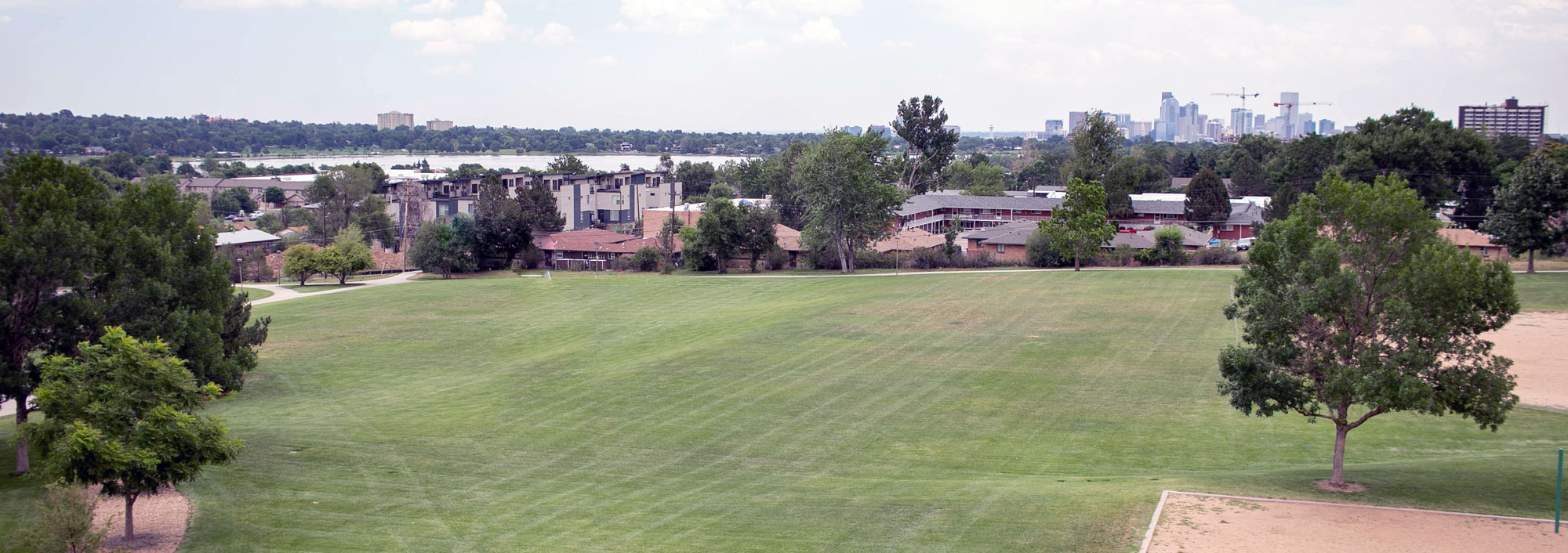 Located next to Walker-Branch Park, Harlan Row offers unobstructed views of Sloan's Lake and Downtown Denver to the east.