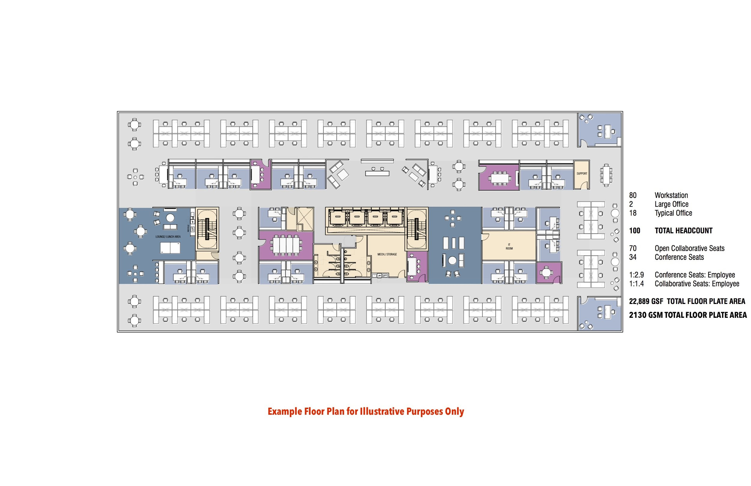 Example Class A Floor Plan
