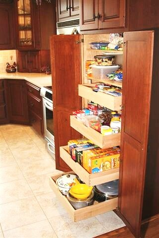 PULL OUT SHELF DRAWERS